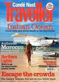 Conde Nast Traveller #greatrock #luxury #success