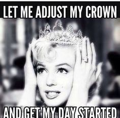 """Top Funny birthday pictures always give us a laugh. So we collected the most adorable Happy funny birthday quotes """"Sending you smiles for every moment Humor Mexicano, Monroe Quotes, Visual Statements, Queen Quotes, Princess Quotes, Funny Princess, Happy Birthday Princess, Good Morning Quotes, Funny Morning"""