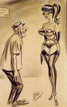 Bill Ward is probably the best pin-up cartoon artist you've never heard of. Description from thepinupfiles.com. I searched for this on bing.com/images