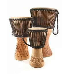 Authentic African Djembe Drums