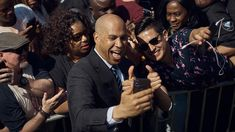 Cory Booker wants to require federal license for gun owners Presidential candidate Sen. Cory Booker is calling for all gun owners to obtain federal firearms licenses. Republican National Committee, Democratic Presidential Candidates, Executive Action, Environmental Justice, Social Media Company, Federal Bureau, Early Voting, Constitutional Rights, Big Government
