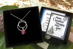 Check out this item in my Etsy shop https://www.etsy.com/listing/576156479/personalized-christmas-silver-garnet