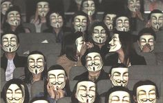 We are Anonymous. We are Legion. We do not forgive. We do not forget...