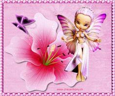 Tag d'été animé 2 - Créations Armony Tinkerbell, Disney Characters, Fictional Characters, Aurora Sleeping Beauty, Creations, Fairy, Cartoon, Disney Princess, Image