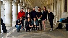 Vita Pictura and Elephant Studio had a great first day of filming a new music video with Slovenian pop-duo - BQL yesterday in Venice Italy.