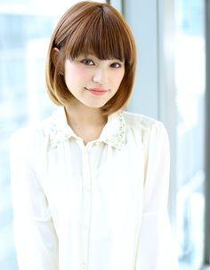 ワンボブヘア (NB-652)|アフロートジャパン 【銀座の美容室】のヘアスタイル