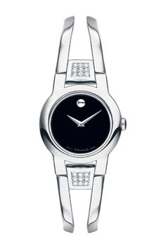Movado Women's Amorosa Diamond Bangle Watch - 0.119 ctw