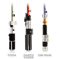 Want To Make Rainy Days Less Gloomy? Star Wars Light Saber Umbrellas  ... see more at InventorSpot.com