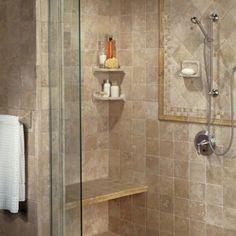 10 Showers to Inspire Your Bathroom Renovation: Bathroom Shower Ideas:  The All-Tile Shower