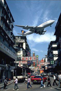I Love Hong Kong - 我愛香港: 昔日香港 - 香港啟德國際機場