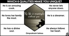 <b>Omprakash</b>, your personality is one that generates envy in the eyes of people who have the pleasure of experiencing it firsthand. The things that make you the enticing person that you are stems from the qualities that make you, you. </br> </br> Share this with the world and let them in on the secret.
