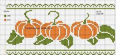 Thrilling Designing Your Own Cross Stitch Embroidery Patterns Ideas. Exhilarating Designing Your Own Cross Stitch Embroidery Patterns Ideas. Fall Cross Stitch, Cross Stitch Fruit, Cross Stitch Borders, Crochet Borders, Cross Stitch Flowers, Cross Stitch Designs, Cross Stitching, Cross Stitch Embroidery, Cross Stitch Patterns