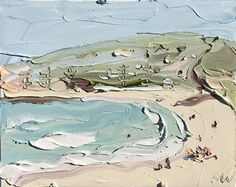 Check out 'Copacabana Study 3 – Plein Air' by Sally West at KAB Gallery Beach Themed Art, Beach Art, Sally West, Dream Beach Houses, West Art, Surf Art, Beach Scenes, Australian Artists, Lovers Art