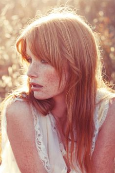 I've always wanted to shoot a freckled red head
