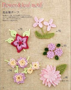 Ivelise Feito à Mão: Flores Motivos E Ideias Em Crochê