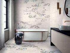 Kasai - Burnt Wood Effect Tiles Kintsugi, Imitation Parquet, Wood Effect Tiles, Porcelain Wood Tile, Large Format Tile, Minimalist Bathroom, Boutique Design, Color Tile, Japanese Design