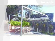 Pérgola aluminio Pergalum® AL2 - Pérgolas Barcelona TE®