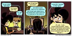 Penny Arcade - Comic - The Tigerian Penny Arcade, I Decided, Tigers, Comic Art, Feel Good, Shit Happens, Feelings, Comics, Cartoons