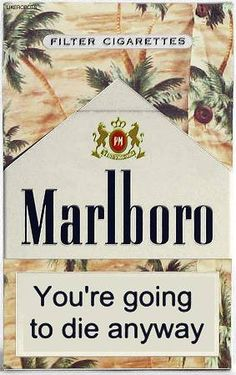An introduction to the marketing of cigarettes