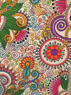 Swirls Mandala Coloring, Colouring Pages, Adult Coloring Pages, Coloring Books, Hippie Clothing, Paint Shirts, Christmas Favors, Doodle Ideas, Madhubani Painting