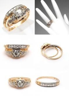 Everything about Yellow Gold Wedding Ring Sets You Must Know