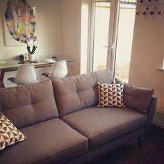 Complete ? #livingthedream #sofa #frenchconnection #charleseames #dfs #design I #mydfs I http://www.dfs.co.uk/zinc/4-seater-sofa-zinc#kp5U8VU21WGGiQa8.97