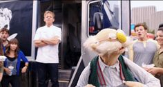 """This could only mean one thing:   Watch Gordon Ramsay Compete With The Swedish Chef, """"Iron Chef""""-Style"""