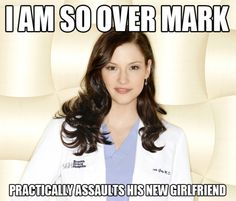lol... yeaaa... about that.... (Grey's Anatomy)