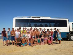 GROUP SHOT shared by Caroline B Cool Dingo guided 2 and 3-day tours of Fraser Island #cooldingo #fraserisland #queensland #australia