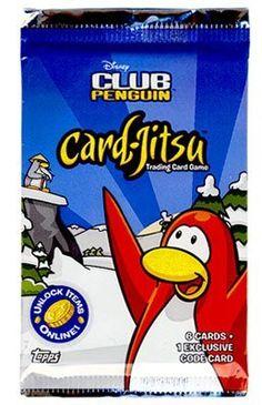 Topps Club Penguin Trading Card Game Card-Jitsu « Delay Gifts