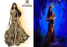 * Lace and Roll * Blog de moda y deco : Vidriera de navidad: Las princesas de Disney vestidas por diseñadores en Harrods
