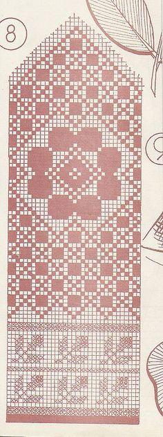 chart for mitten Knitting Charts, Knitting Stitches, Knitting Designs, Knitting Socks, Knitting Patterns, Knitted Mittens Pattern, Crochet Mittens, Knitted Gloves, Crochet Chart