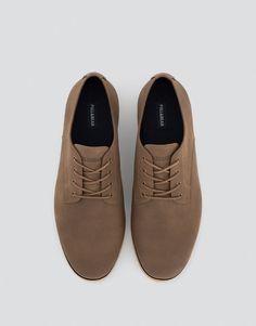 Pull&Bear - homem - sapatos - ver tudo - sapatos slim - couro - 17380112-I2016