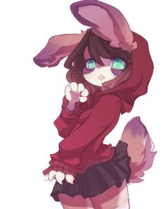 2 by laribun on DeviantArt Cute Animal Drawings, Animal Sketches, Cool Drawings, Manga Kawaii, Anime Neko, Cute Anime Character, Character Art, Arte Furry, Anime Characters