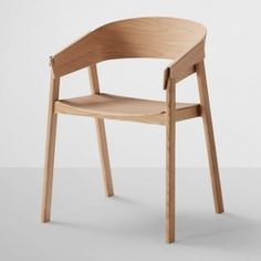 Cover Chair is a minimalist design created by Denmark-based designer Thomas Bentzen for Muuto.