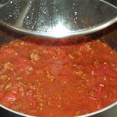 Simple Semi-Homemade Low Carb No-Bean Chili Allrecipes.com