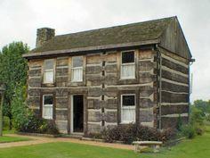 2 Story Log Cabin Homes - Bing Images