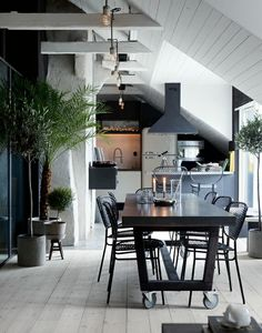 Contemporary interior design – More Interior Trends To Not Miss. 31 Stylish Interior Ideas For Starting Your Home Improvement – Contemporary interior design – More Interior Trends To Not Miss. Scandinavian Interior Design, Home Interior, Kitchen Interior, Scandinavian Kitchen, Scandinavian Style, Modern Interior, Minimalist Interior, Industrial Apartment, Attic Apartment