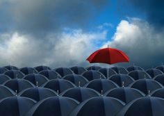 Picture of red umbrella standing out from the rest stock photo, images and stock photography. Mortgage Protection Insurance, Umbrella Insurance, Red Pictures, Red Umbrella, Best Natural Skin Care, Types Of People, Life Insurance, How To Be Outgoing, Personal Finance