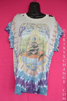 TRIXY XCHANGE Womens Grateful Dead Shirt Grateful by TrixyXchange, $38.00