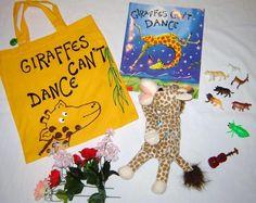 under the sea literacy backpack Literacy Bags, Preschool Literacy, Literacy Centers, Kindergarten, Speech Activities, Language Activities, Giraffes Cant Dance, Story Sack, Dance Themes