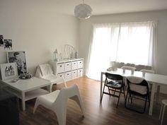 Helle 3 Zimmerwohnung in Winterthur mit Laminatboden und grossem Balkon.