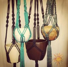 Macramé Plant Hangers by Sunshine Dreaming