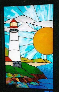 J&M Stained Glass, North Myrtle Beach, SC #StainedGlassBeach #StainedGlassOcean