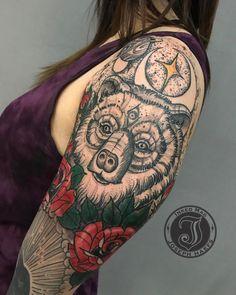 """12.6k Likes, 51 Comments - @josephhaefstattooer 👁 (@josephhaefstattooer) on Instagram: """"Today's Tattoo. Thanks @kellyxiong ❤️😎🙏🏽 @reverenttattoo @josephhaefstattooer @inkedmag…"""""""
