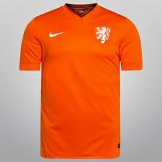 Camisa Nike Seleção Holanda Home 2014