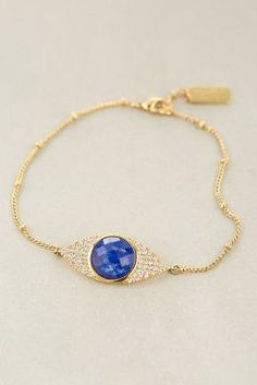 Melanie Auld Jewelry All-Seeing Gem Bracelet #anthrofave #littleadditions
