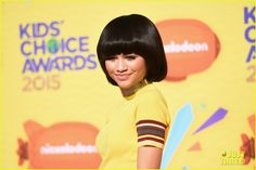 zendaya veronica dunne 2015 kcas 02 Zendaya sports a cute bob hairstyle while attending the 2015 Kids' Choice Awards held at The Forum on Saturday afternoon (March 28) in Los Angeles.    The 18-year-old…