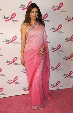 Liz Hurley at the Waldorff-Astoria Breast Cancer Foundation's Hottest Pink Party