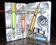 Art Journal by Margaret Storer-Roche visit for a closer look inside pages!